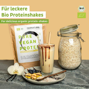 Load the picture into the gallery viewer, Vegan protein powder vanilla