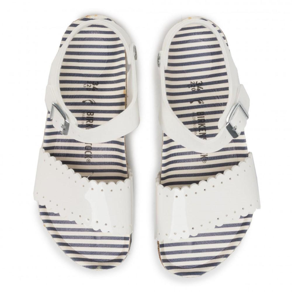 Mila Kids BF Nautical Stripes White
