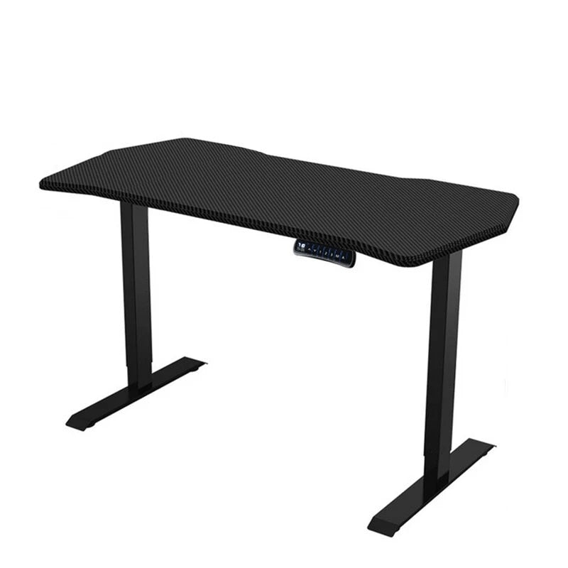 ergonomic height adjustable standing desk - carbon black