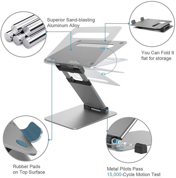 height adjustable laptop stand - standing desk