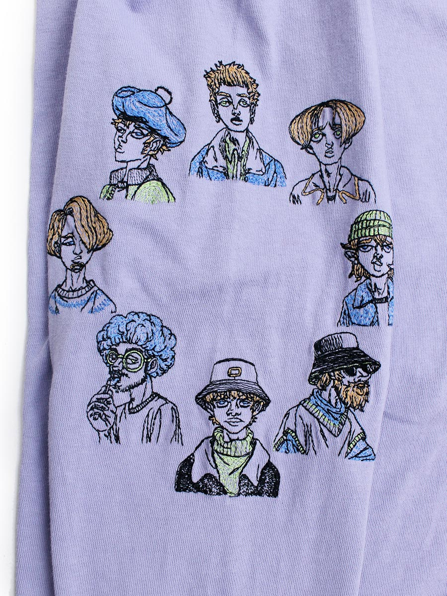 COURTSHIP BIG LS TEE -LAVENDER-