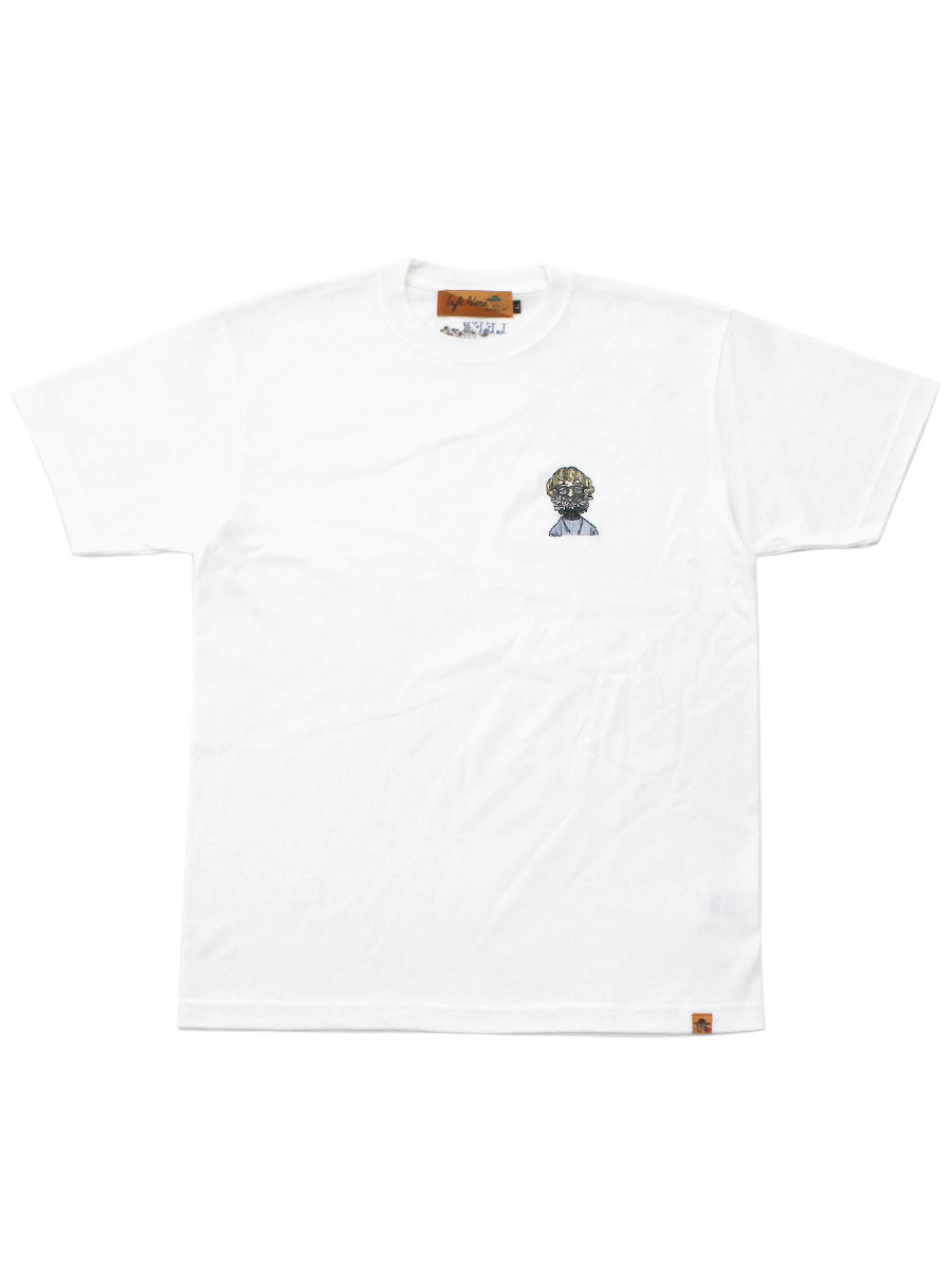 ONE POINT S/S TEE -WHITE-