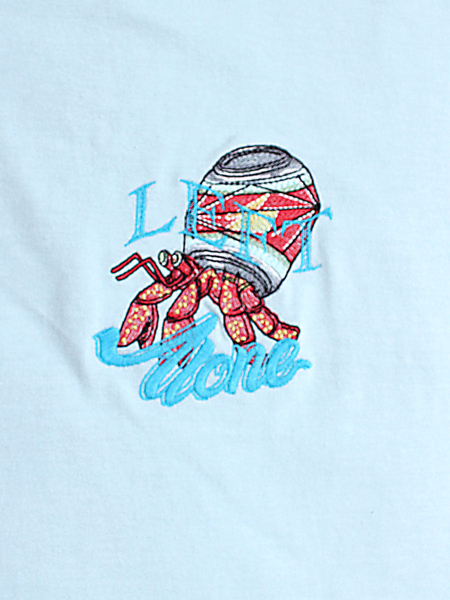 HERMIT CRAB DRINK TEE -MINT-