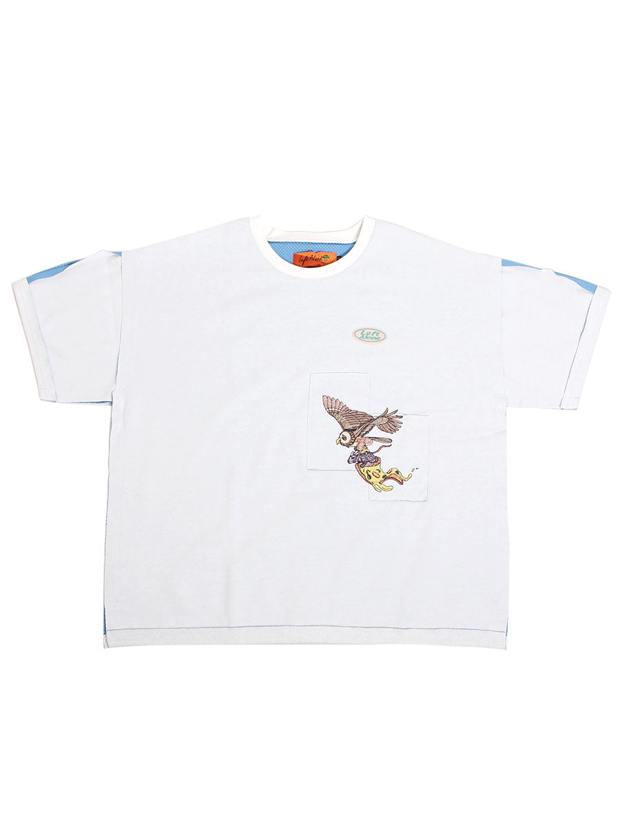 BONDING SS TEE -WHITE-