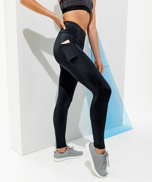 High-shine leggings sport leggings