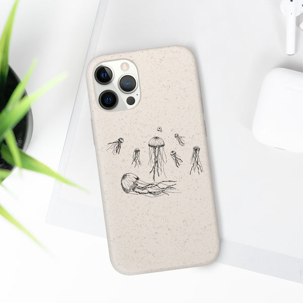Jellyfish Biodegradable Case