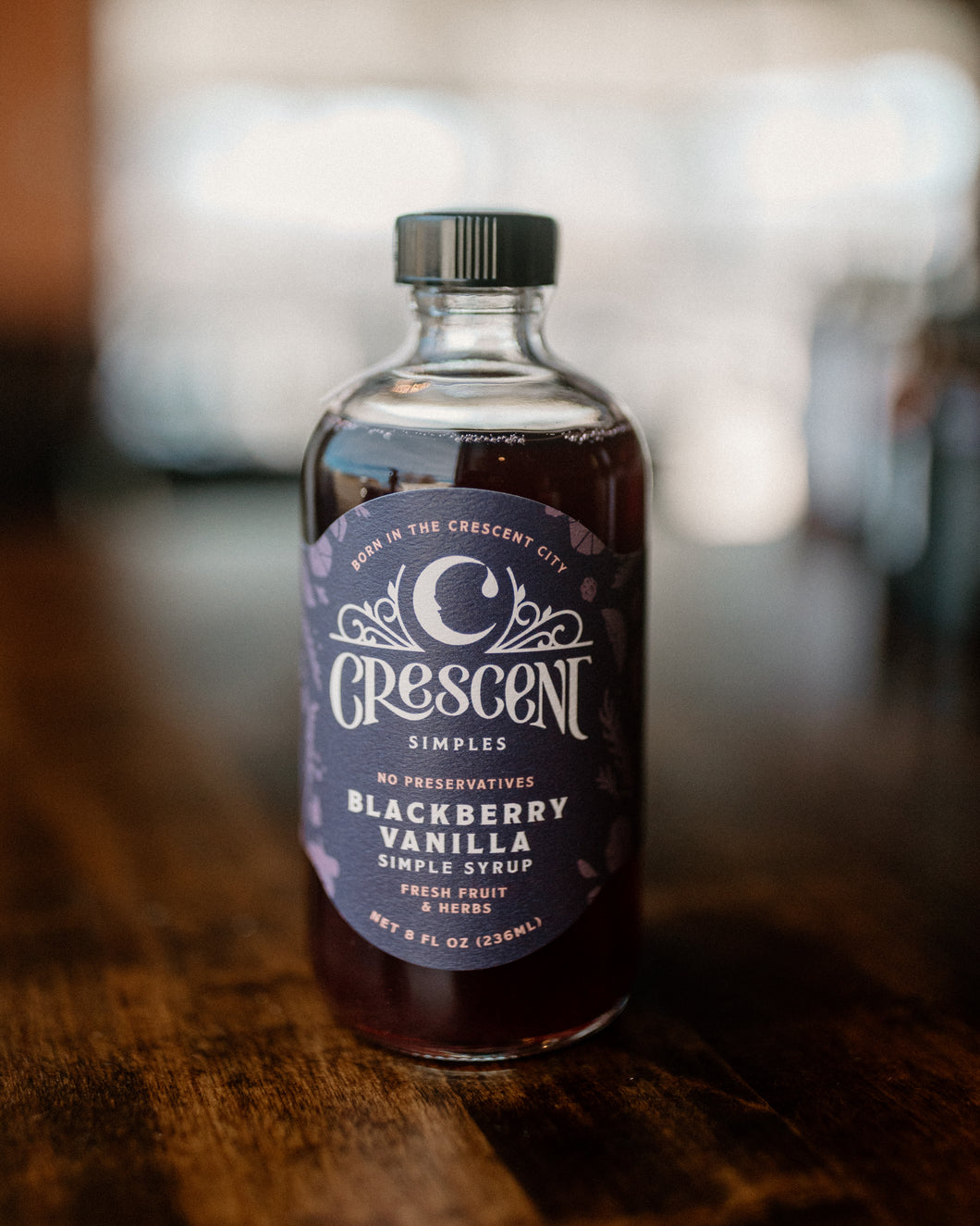 Crescent Simple Syrups (VA Made)