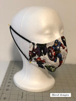 Marvel Comics Custom Made Face Mask
