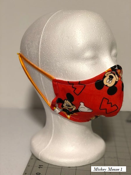 Disney's Mickey & Minnie Mouse Custom Made Face Mask