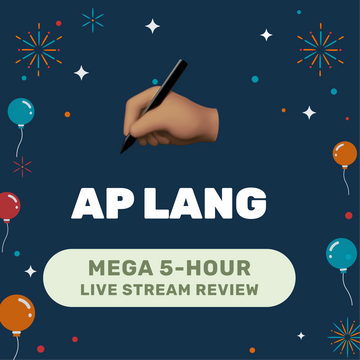 🌶 5-Hour️ AP English Language Cram Finale Full Review