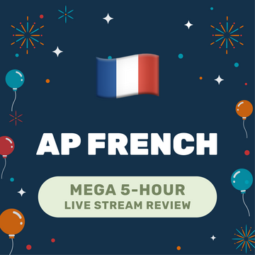 🌶 5-Hour️ AP French Cram Finale Full Review