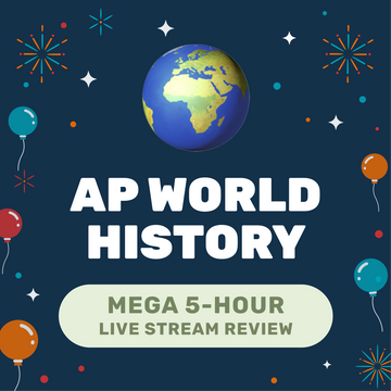 🌶 5-Hour️ AP World History Cram Finale Full Review