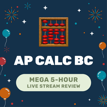 🌶 5-Hour️ AP Calc BC Cram Finale Full Review