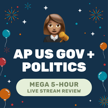 🌶 5-Hour️ AP Gov + Politics Cram Finale Full Review