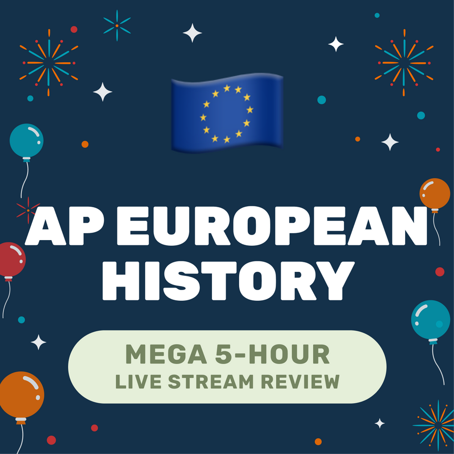 🌶 5-Hour️ AP European History Cram Finale Full Review