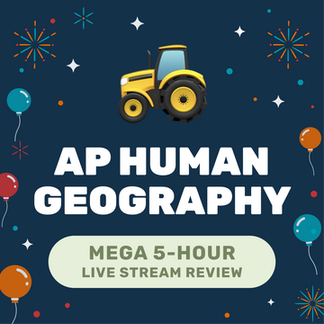🌶 5-Hour️ AP Human Geography Cram Finale Full Review