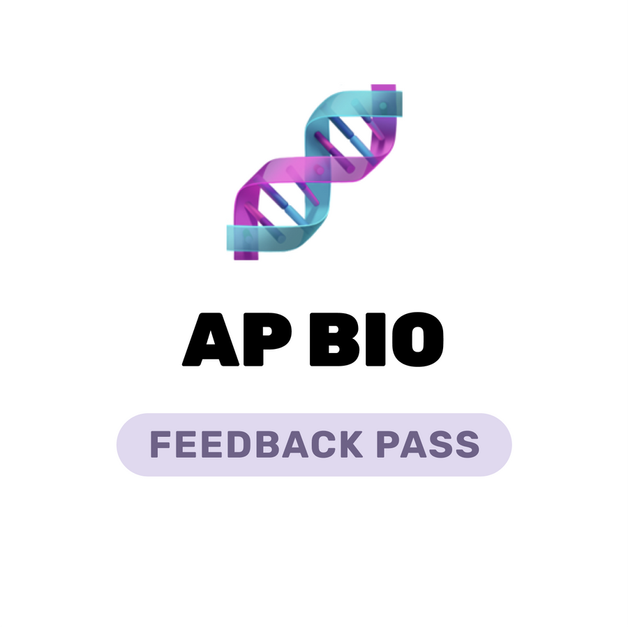 🌶 AP Biology Feedback Pass Spring 2021