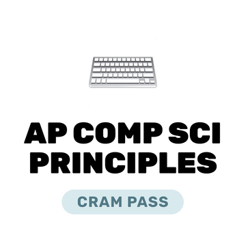 🌶 AP Computer Science Principles Cram Pass Spring 2021