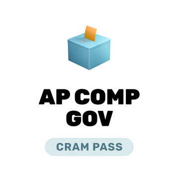 🌶 AP Comparative Gov. and Politics Cram Pass Spring 2021