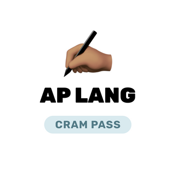 🌶 AP English Language and Composition Cram Pass Spring 2021