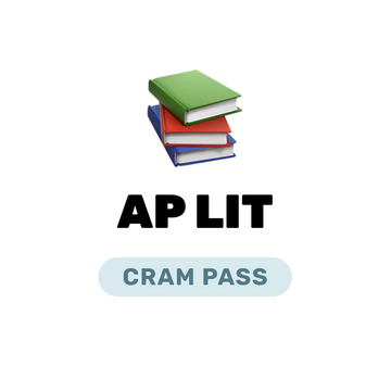 🌶 AP English Literature and Composition Cram Pass Spring 2021