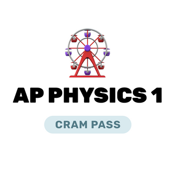 🌶 AP Physics 1 Cram Pass Spring 2021