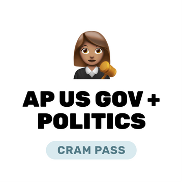 🌶 AP US Government and Politics Cram Pass Spring 2021