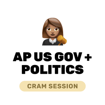 🌶 Live️ AP Gov + Politics Cram March 14, 2021