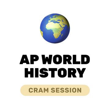 🌶 Live️ AP World History Cram May 1, 2021
