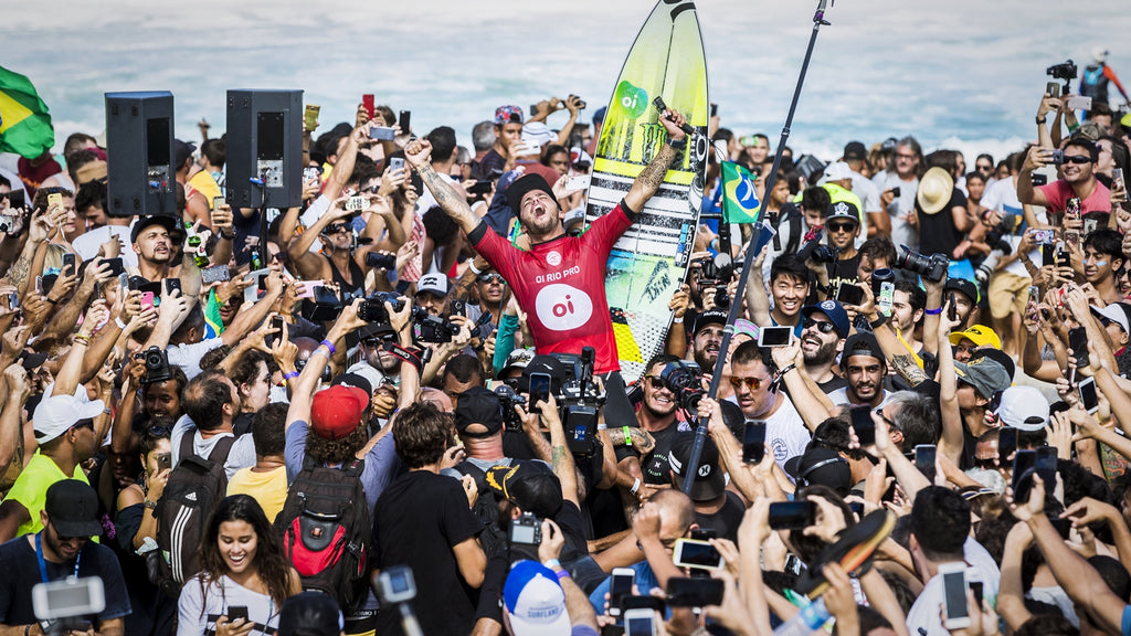 Filipe Toledo Claims 2nd Oi Rio Pro Title