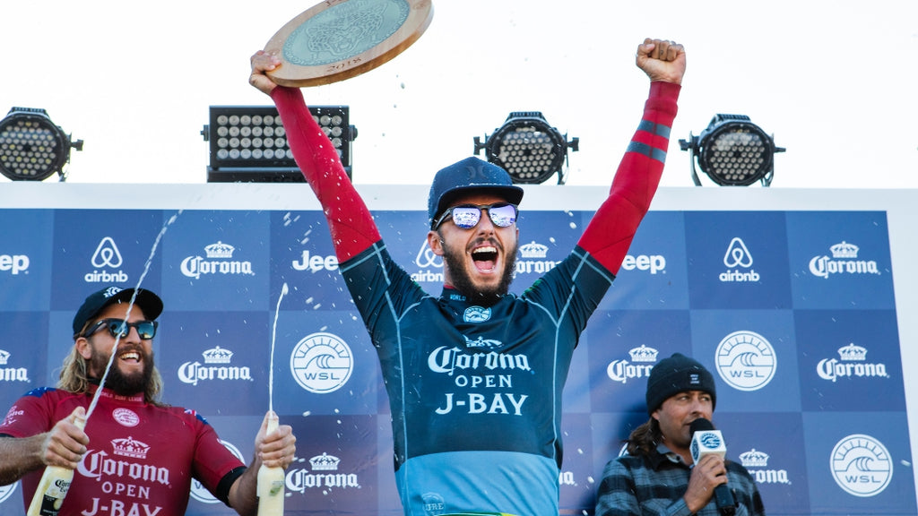 Filipe Toledo claims back-to-back victory at the Corona Open J-Bay