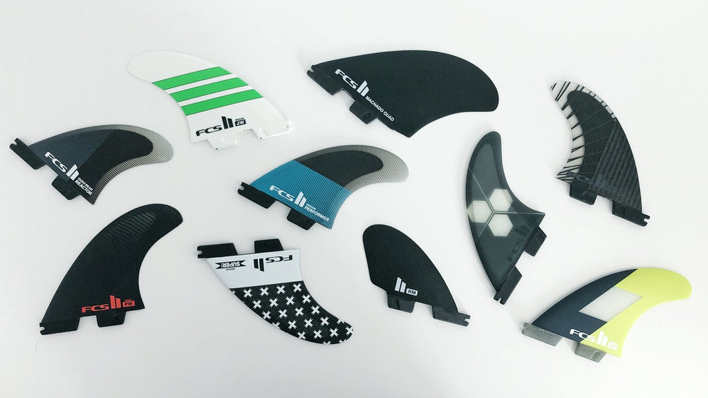 FCS II Fin Templates | Find Your Fin | Shop online at surfmusicartstyle.com