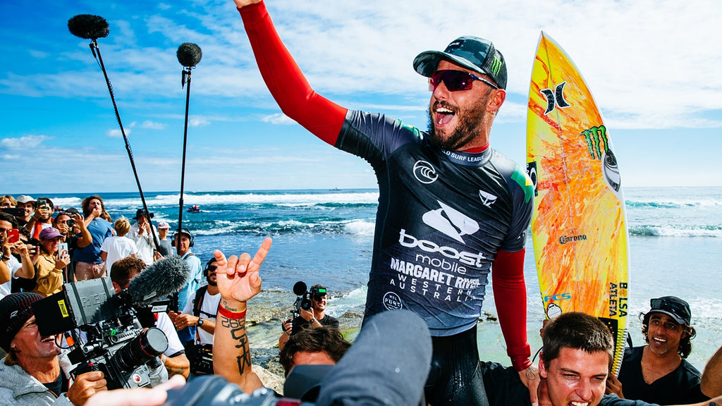 Filipe Toledo (Brazil) Wins 2021 Boost Mobile Margaret River Pro Presented by Corona