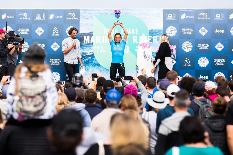 Sally Fitzgibbons Claims Victory at Drug Aware Margaret River Pro