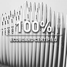 100% Ecoboard certified