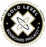 Sustainable Surf Verification Gold Level Ecoboard