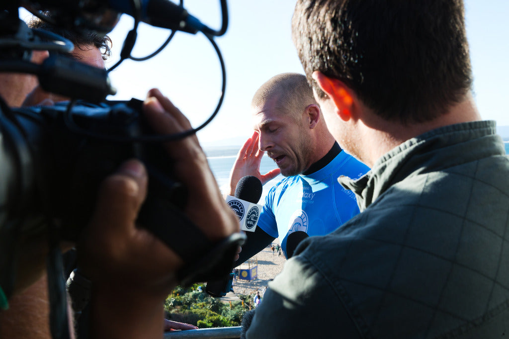 WSL News | J-Bay Shark Attack | Mick Fanning Interview