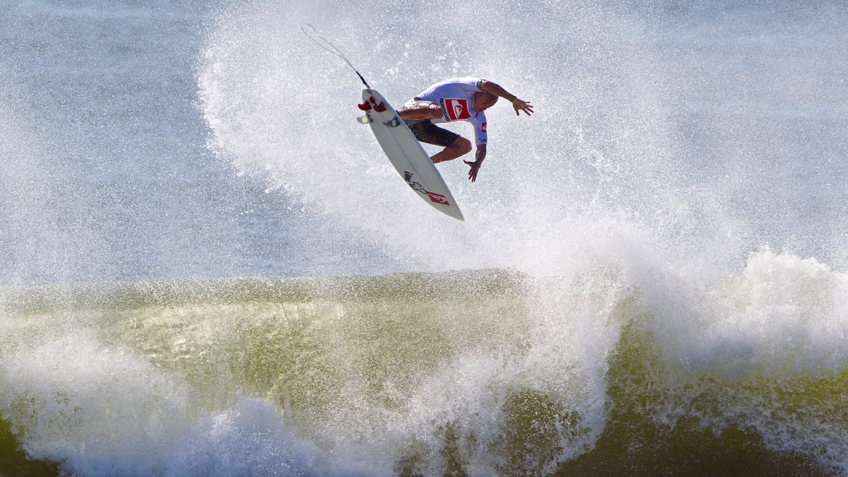 Kelly Slater - 360 Air, Quiksilver Pro New York. Photo by ASP / Sean Rowland
