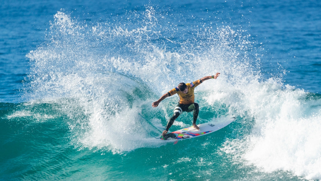 Julian Wilson finishes 5th at the Corona Open J-Bay & now moves to 2nd on the Jeep Leaderboard