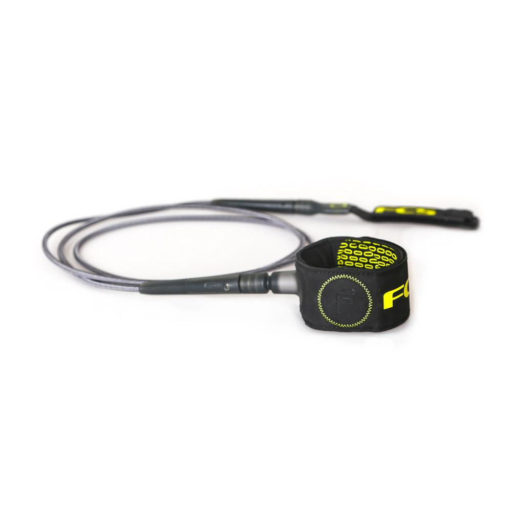 FCS Freedom Leash Charcoal/Green