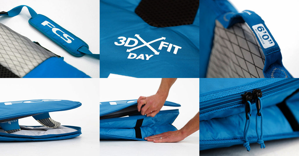 FCS 3DxFit Day All Purpose
