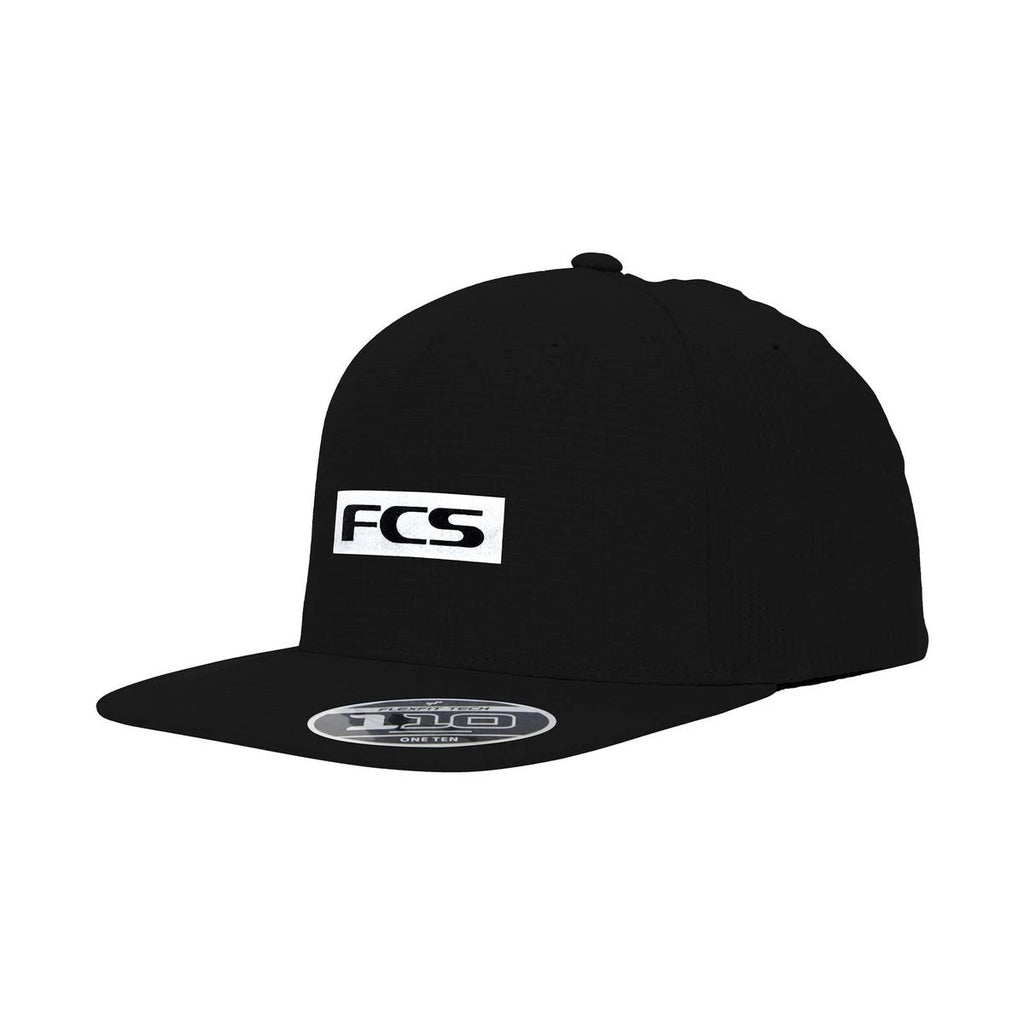 FCS Repel Snapback Cap - Black