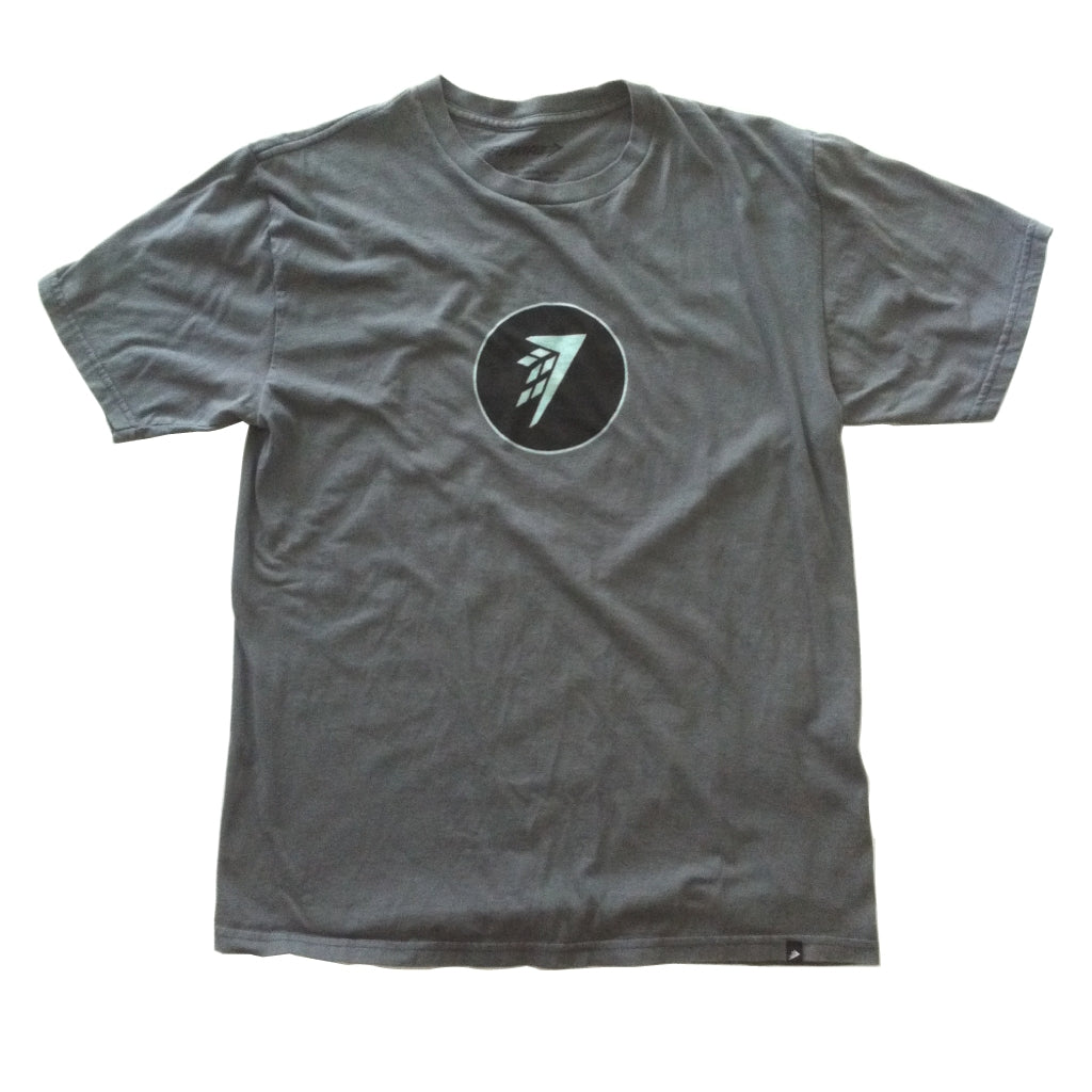 Firewire Circle Icon T-Shirt Charcoal