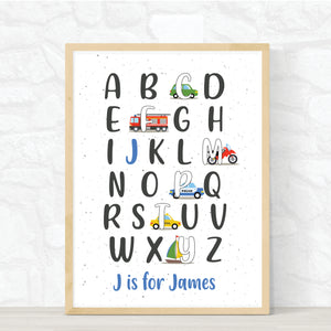 Custom ABC Transport Print