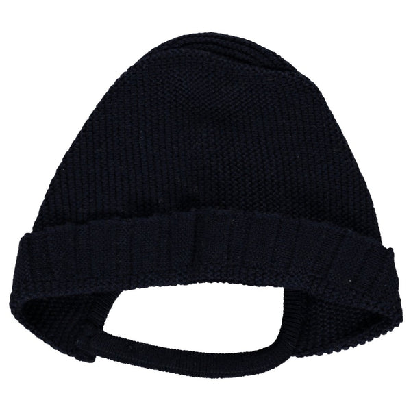 Bonnet navy wool