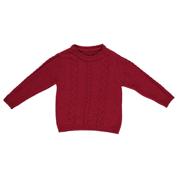 Roma red wool