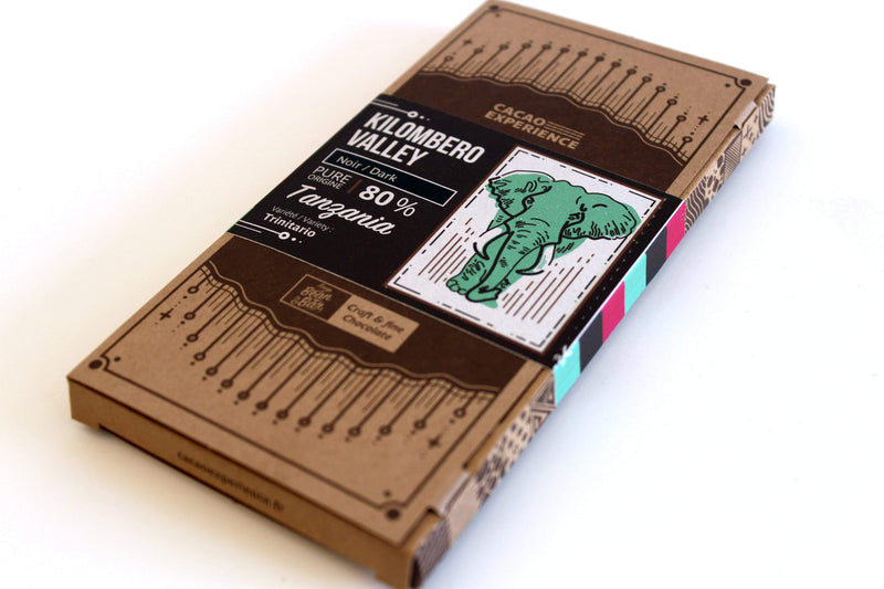 Kilombero Valley 80% - 60gr Chocolat noir - Boutique D'Alsace