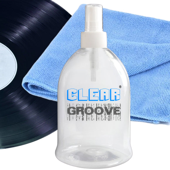 Clear Groove large volume spray