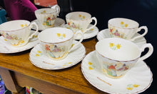 Load image into Gallery viewer, Set o Lestri Tê 'Beaumaris' / 'Beaumaris' Tea Set
