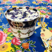 Load image into Gallery viewer, Canhwyllau China Cwyr Soy Vintage / Soy Wax Vintage China Candles